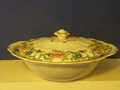 Booths Floradora Covered Casserole Vegetable Tureen