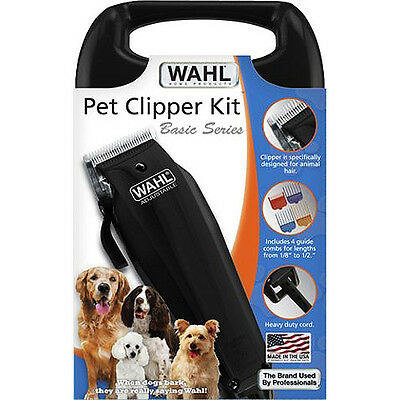WAHL CLIPPER TRIMMER PET Stress - Free GROOMING KIT Heavy Duty Cord DOG NEW NiB