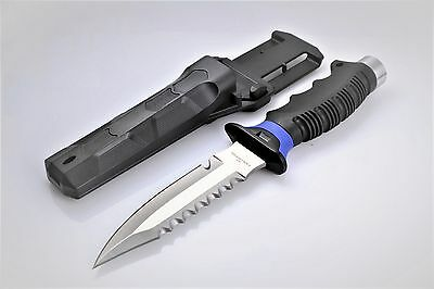 Scuba Diving Camping Hunting Fishing Stainless Steel Dive Knife WIL-DK-02B