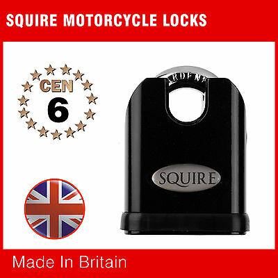 SS65CS HIGH SECURITY PADLOCK, Closed Shackle CEN 6 from Squire