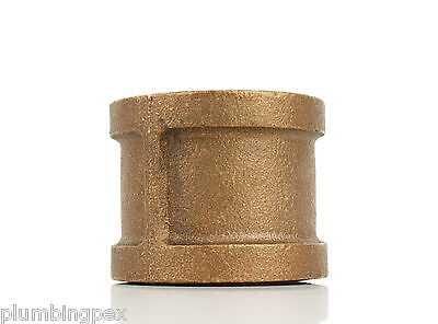 "1"" Brass Coupling Fitting Plumbing Thread"
