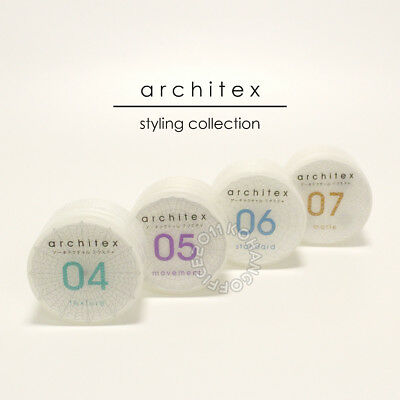 Hair clay wax curl matte mud products styling Japan Architex