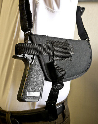 Nylon Horizontal Shoulder Holster for Springfield XD9 45 357
