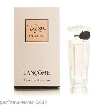 TRESOR IN LOVE BY LANCOME MINI PERFUME 0.16 OZ 5 ML EAU DE PARFUM SPLASH NIB