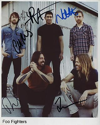 Foo Fighters SIGNED Photo 1st Generation PRINT Ltd, No'd + Certificate (4)