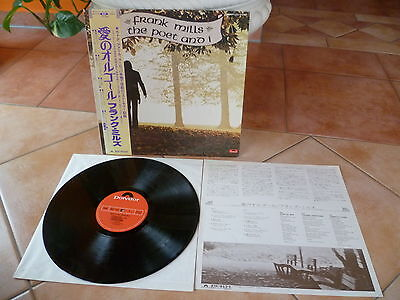 Frank MillsThe Poet And Iaudiophile Japan LP OBI Music