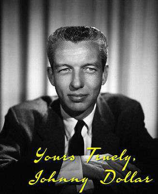 Yours Truly, Johnny Dollar - OTR - Set #4 - 133 Episodes on 2 MP3 CDs