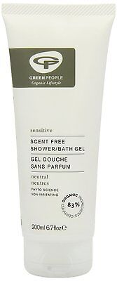 Green People No Scent Shower Bath 200ml