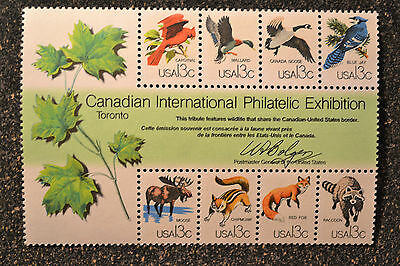 USA1978 #1757 13c CAPEX Canadian Philatelic Exhibition Souvenir Sheet - Mint NH