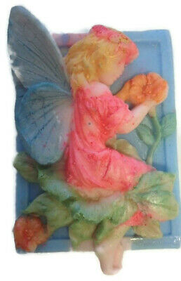 FLOWER FAIRY SOAP MOULD- Candles/Melts,crafts, Silicone New Hand Crafted Mold