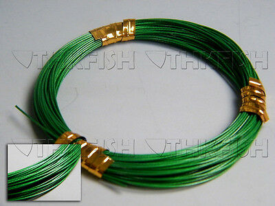 NEW!! 10m/11yard 60lbs Stainless Steel Wire Leader Fishing Line Rigs