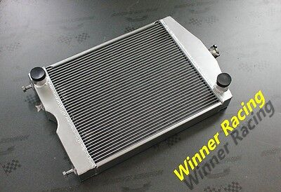 "56mm 2x1"" aluminum radiator for Ford 2N/8N/9N tractor w/Ford 305 5L V8 engine"