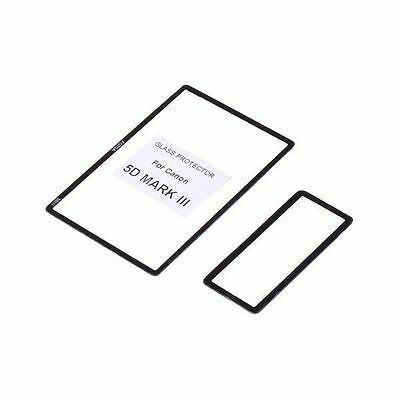 LCD Screen glass Protector for CANON 5D MK III uk seller