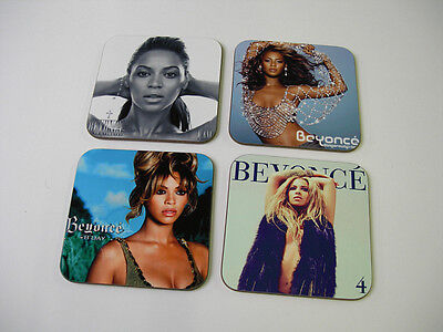 Beyonce Album Cover COASTER Set
