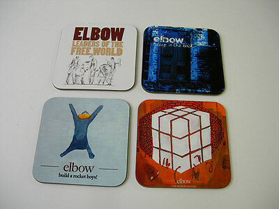 Elbow Album Cover COASTER Set