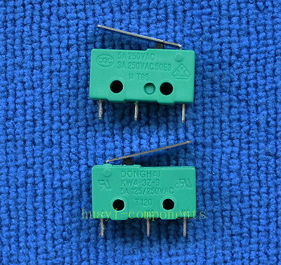 5PCS Brand New KW4-3Z-3 MICRO SWITCH KW4 LIMIT SWITCH 3pin N/O N/C