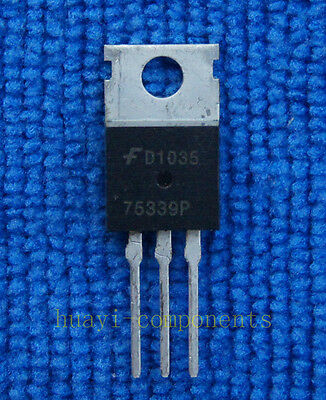 10pcs HUF75339P3 75339P N-Channel UltraFET Power MOSFETs