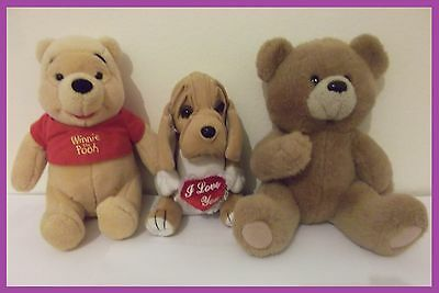 Stuffed Soft Animal Toys Kids Children's Birthday Present Gifts,Teddy/Dog/Bear