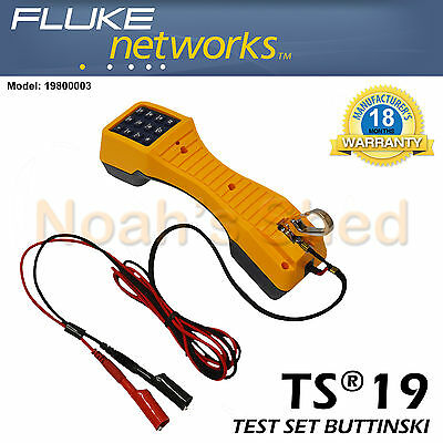 Fluke TS19 Test Set Buttinski / Butt Phone
