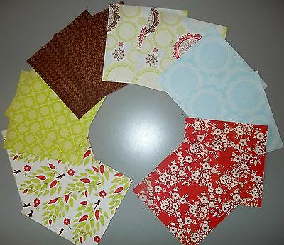 """Kaiser Crafts Double Sided  """"MERRY MEDLEY""""   - 15cm x 15cm (6"""" x 6"""")"""