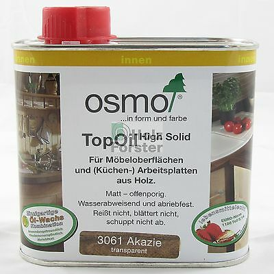 OSMO Top Oil High Solid 3061 Akazie, 0,50 Liter