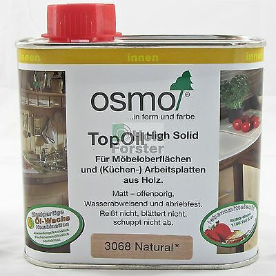 OSMO Top Oil High Solid 3068 natural, 0,50 Liter