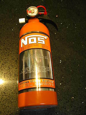 NEW Kidde Fire Extinguisher Look A Like NOS Hemi Orange Nitrous Bottle Race Car
