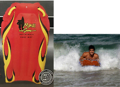 Maui Air Surf Boogie Boogy Board Inflatable Tube