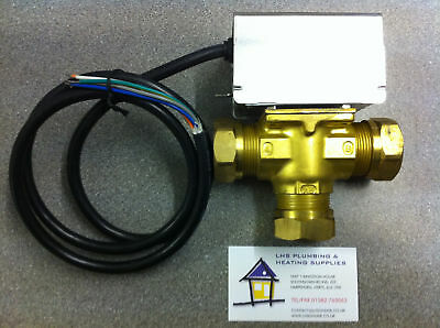 28Mm 3-Port Motorised Mid Position Valve Fast Delivery