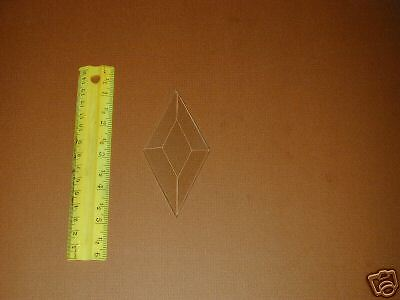 "STAINED GLASS SUPPLIES  (30) 2""X4"" Dia, Bevels"