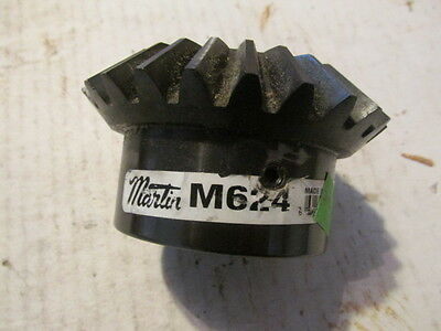 "NEW Martin HMK624 Miter Gear 20 Pressure Angle High Carbon Steel 1 1/4"" IN Bore"