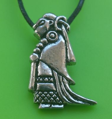 Viking valkyrie pewter pendant necklace hand crafted in scotland viking valkyrie pewter pendant necklace hand crafted in scotland norse aloadofball Images