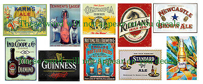 Vintage Beer Labels - #G5