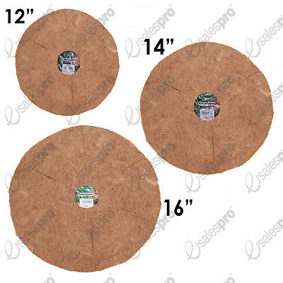 "12"", 14"", 16"" Hanging basket liners - COCONUT FIBRE Discounted quantity deals"