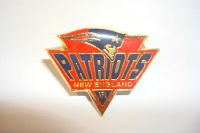 NFL metal pin badge NEW ENGLAND PATRIOTS  new spike #2