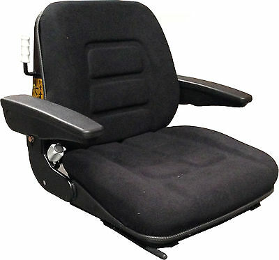 Fabric Seat Top Inc Armrests Rails Sensor Fits To Grammer Msg95 Msg85 Ds85 Ls95