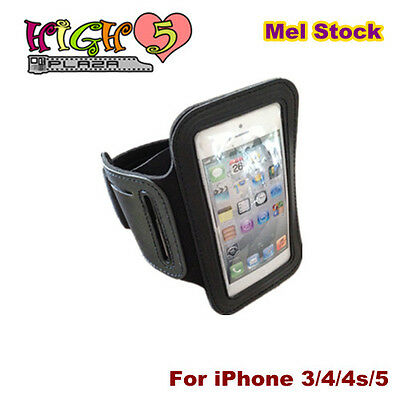 Armband Gym Sport Outdoor Arm Band Case Holder Cover for iPhone 5 4 4S iPod MP3