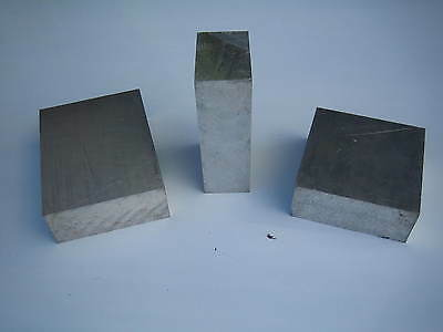 """Aluminium Plate 6082T6 / H30 1"""" / 25mm Various Sizes Available"""
