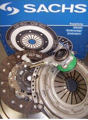 Ford Focus Ii 1.6 Tdci Sachs Dmf Dual Mass Flywheel And Clutch Kit With Csc