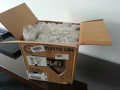 Box of 2500 TP9 Plastic Cup lids (PL4TS)