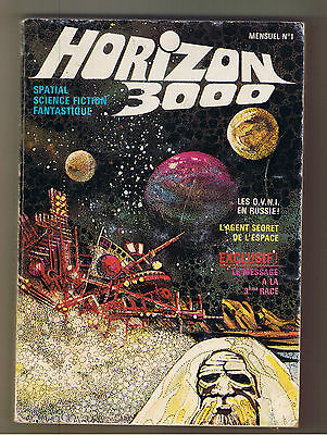 "Revue ""Horizon 3000 - N° 1""  (1976) Science-Fiction"