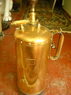 Empty Vintage STAR MANUFACTURER Brass Plant Sprayer COOL!