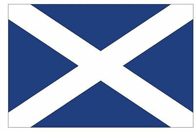 SCOTLAND Vinyl International Flag DECAL Sticker MADE IN THE USA F448
