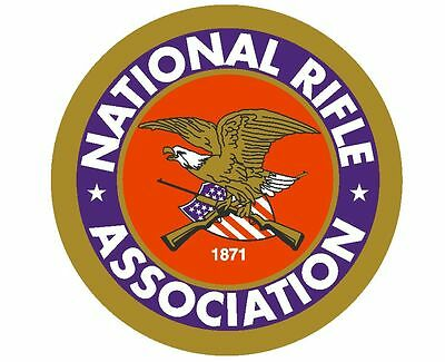 NRA National Rifle Association Sticker Decal R1 CHOOSE SIZE FROM DROPDOWN