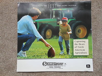 John Deere 1997 Calendar Capturing the Heart of North American Agriculture