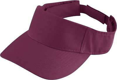 Augusta Sportswear Youth 100% Cotton Pre Curved Bill Sport Twill Visor. 6226