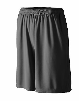 Augusta Sportswear Youth Polyester Mesh 9 Inch Running Basketball Shorts. 814