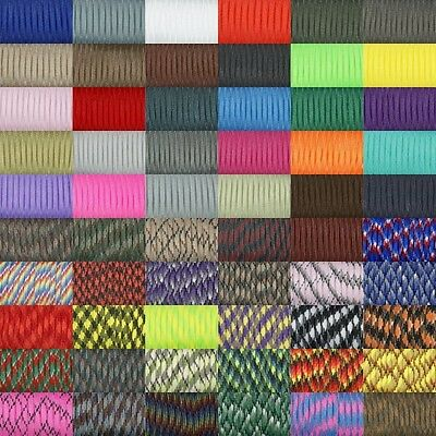 550 Paracord Parachute Cord Paracord Type III 7Core Strand 100FT Desert Survival