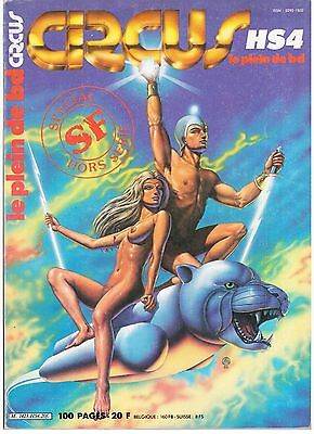 "Bd / Circus Hs 4 - Special Science-Fiction "" (1982) Macedo /  Convard / Rossi"