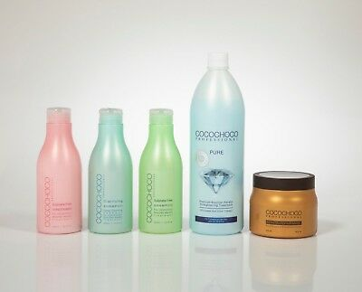 COCOCHOCO Pure - Brazilian Keratin blow-out Treatment Kit no. 41 for blond hair